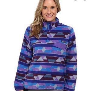 Rare Patagonia Synchilla Snap T Fleece Jacket